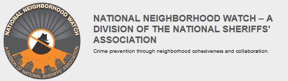 <b>National</b> Neighborhood <b>Watch</b> | Crime prevention through ...