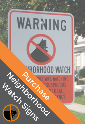 Purchase Neighborhood Watch Signs