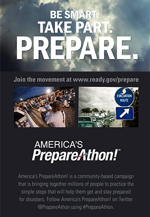 Americas Prepare Athon - Ready.gov Prepare